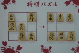 【初級】2020/8/5の将棋パズル