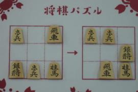 【初級】2020/8/29の将棋パズル