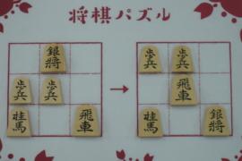 【初級】2020/8/31の将棋パズル