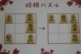 【初級】2020/9/9の将棋パズル