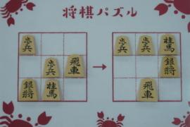 【初級】2020/9/11の将棋パズル