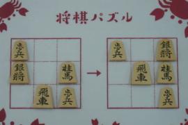 【初級】2020/10/7の将棋パズル