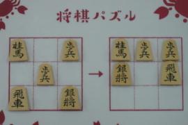 【初級】2020/10/10の将棋パズル