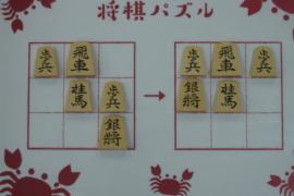 【初級】2020/10/11の将棋パズル