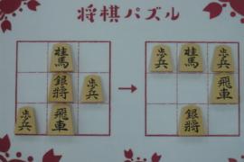 【初級】2020/10/13の将棋パズル