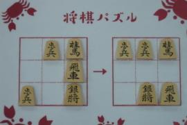 【初級】2020/10/15の将棋パズル