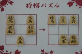 【初級】2020/10/16の将棋パズル