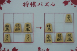 【初級】2020/10/19の将棋パズル