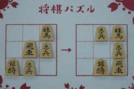 【初級】2020/10/25の将棋パズル