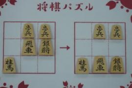 【初級】2020/11/15の将棋パズル