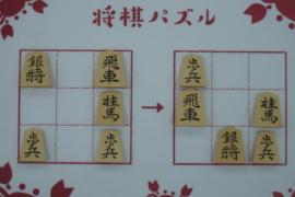 【初級】2020/12/7の将棋パズル