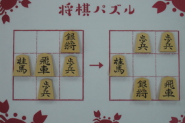 【中級】2020/11/28の将棋パズル