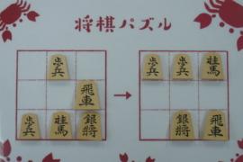 【初級】2020/12/21の将棋パズル