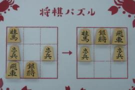【初級】2020/12/22の将棋パズル