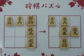 【初級】2020/12/28の将棋パズル