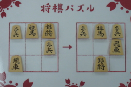 【初級】2020/12/30の将棋パズル