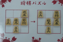 【初級】2020/12/31の将棋パズル