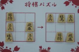 【中級】2021/1/3の将棋パズル