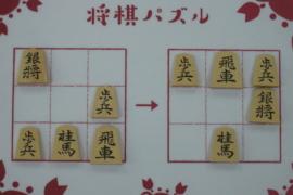 【初級】2021/1/6の将棋パズル