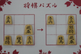 【初級】2021/1/27の将棋パズル