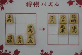【初級】2021/1/30の将棋パズル