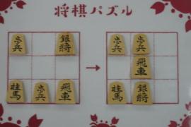 【初級】2021/2/2の将棋パズル