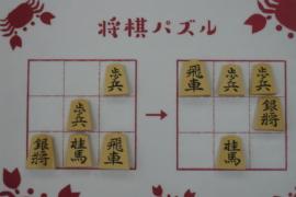 【初級】2021/2/3の将棋パズル
