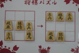 【中級】2021/2/5の将棋パズル