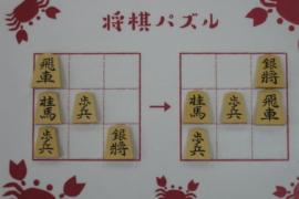 【初級】2021/2/8の将棋パズル