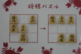 【初級】2021/2/9の将棋パズル