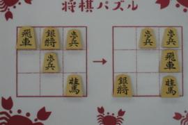 【初級】2021/2/11の将棋パズル