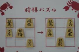 【初級】2021/2/12の将棋パズル