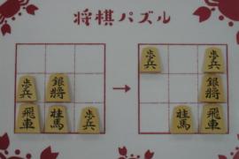 【初級】2021/2/15の将棋パズル