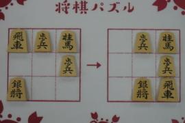 【初級】2021/2/19の将棋パズル