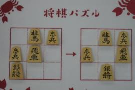 【初級】2021/2/22の将棋パズル