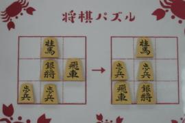 【中級】2021/2/23の将棋パズル