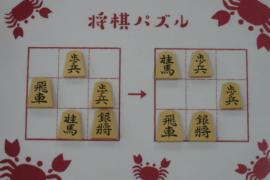 【初級】2021/2/24の将棋パズル