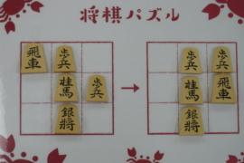【初級】2021/3/3の将棋パズル