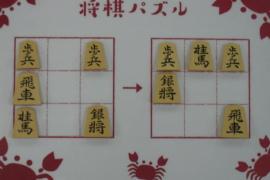 【初級】2021/3/9の将棋パズル
