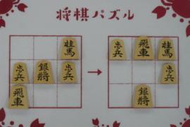 【初級】2021/3/11の将棋パズル
