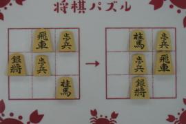 【初級】2021/3/13の将棋パズル