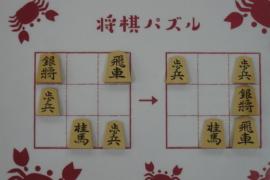 【中級】2021/3/27の将棋パズル