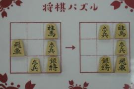 【初級】2021/4/8の将棋パズル