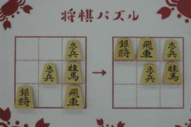 【初級】2021/4/11の将棋パズル