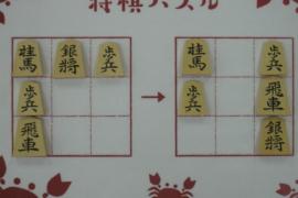 【初級】2021/4/12の将棋パズル