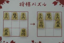 【初級】2021/4/20の将棋パズル