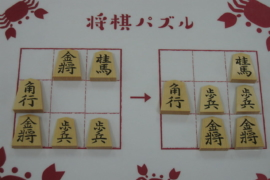【中級】2021/5/27の将棋パズル