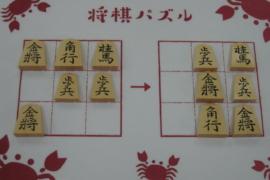 【初級】2021/5/29の将棋パズル