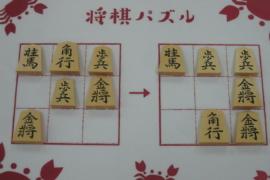 【初級】2021/6/4の将棋パズル
