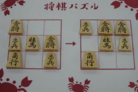 【初級】2021/6/6の将棋パズル